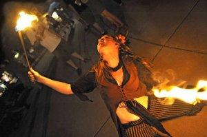 fire eater, Cincinnati