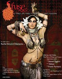 Fuse belly dance magazine
