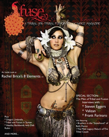 Fuse belly dance magazine