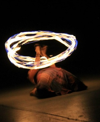 This is from the recent performance that rekindled my flame. ;) Photo courtesy of Virginia Gribben and Circus Mojo