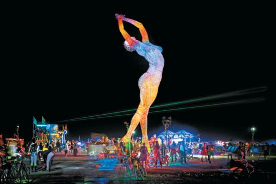 Art sculpture by Marco Cochrane_Burning Man