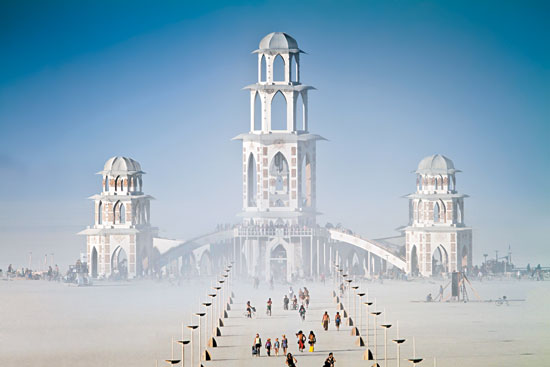 The Temple of Transition at Burning Man