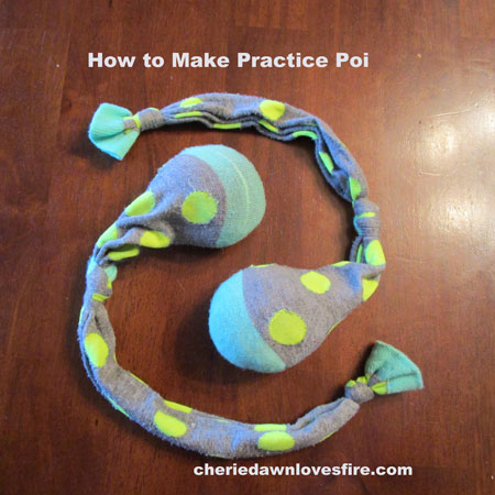 DIY - How to make practice poi
