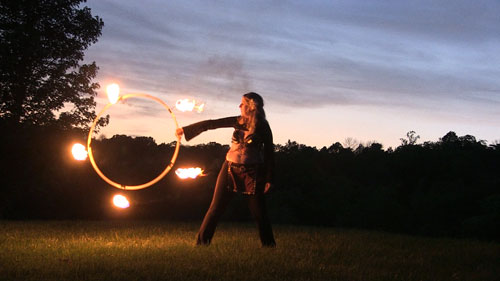 Fire hoop, hooping, hoop dance | CherieDawnLovesFire.com