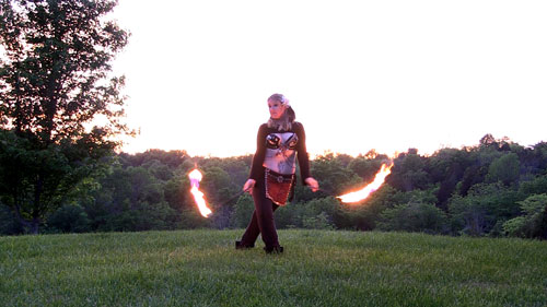 Fire poi, Poi spinning | CherieDawnLovesFire.com