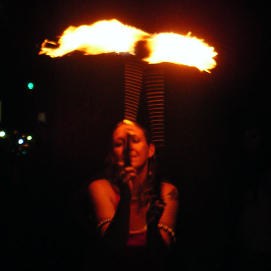 Fire spinner Cherie Dawn | cheriedawnlovesfire.com