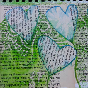 Creativity Hour, art journaling | CherieDawnLovesFire.com
