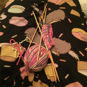 Creativity Hour, knitting JenBarnes007 | CherieDawnLovesFire.com